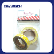 Waterproof Rainbow hot melt adhesive tape For Decoration