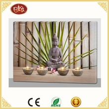 Buddha led canvas art painting, wall decorative picture