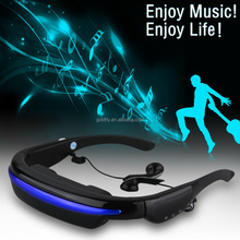 Hot New Excelvan 3D 52 Inch Videobrille Glass Digital Portable Virtual Screen Video Glasses Personal Theater Player TF Card