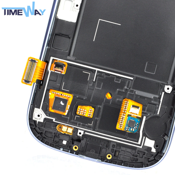 100% Well Tested Low Price Screen Display Assembly with Touch Screen for Samsung Galaxy S3 i9300i Lcd