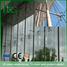 Fully spider fitting frameless glass curtain walls/Spider System/Fin wall systems