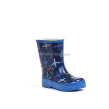 Cheap Lovely Rubber Kids Rain Boots For Boys Waterproof Garden Boots Factory Wholesale Kids Shoes