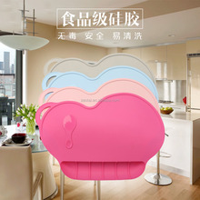 portable silicone baby placemat for <strong>kids</strong> hot selling for baby feeding palcemat