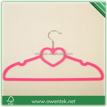 Owentek supply colorful cheap Primark velvet hangers for clothes