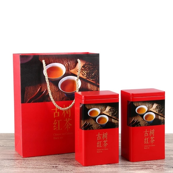 High quality tea packing metal tin box manufactured in China