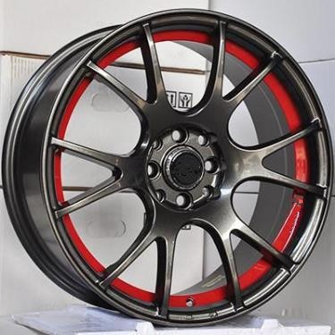 Hot! car alloys wheels rims , Popular rims, PCD 108, 112, 120, 130 aftermarket wheels 86379