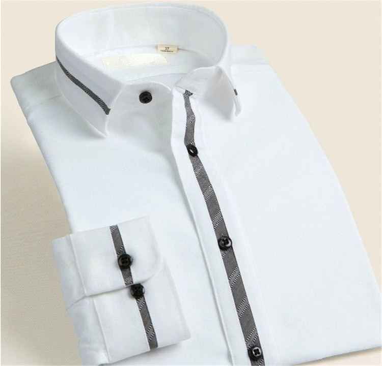 Factory Supply custom design formal party shirts with many colors