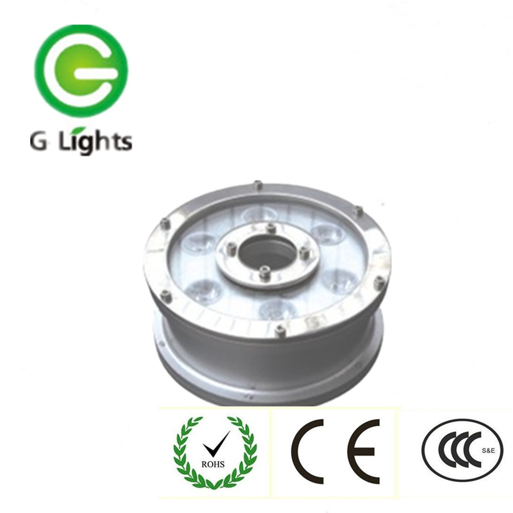 New Design Best Price Energy-efficient Stainless Steel IP68 RGB Swimming Pool 12V 6W Underwater LED Lights