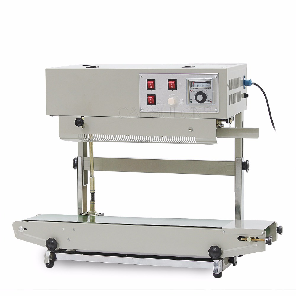 Automatic continuous plastic bag sealing machine with Coding Printer FR-900V (220V/ 50HZ)