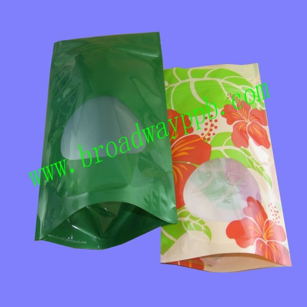 custom printed bottom gusset reclosable ziplock plastic candy floss bags