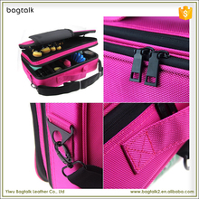 1CS0222 2017 China Factory Proffesional Pink Waterproof Nylon Toiletry Kits Fashion Makeup Bag In Bag Organizer Insert Jobs Case