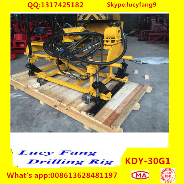 Cheapest Portable Hydraulic KDY-30G1 Geotechnical Core Sampling Drilling Rig With SPT Equipment