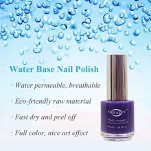 Popular nail products of 2015 peel off one step nail polish no label