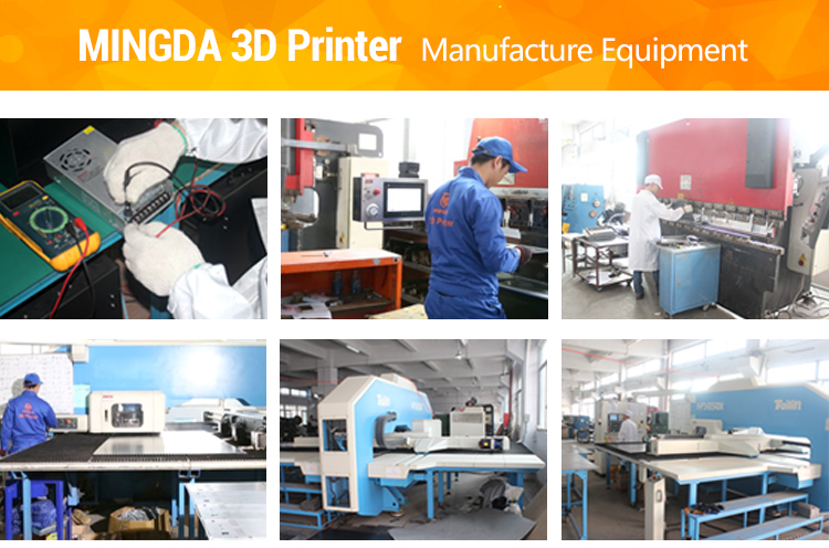 Buck Price Best Selling MINGDA MD-6L 3D Printer / Large Build Size Printer 3 D / High Precision 3D Printer Industrial