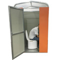 Newly design portable assembled dry toilet squat pan