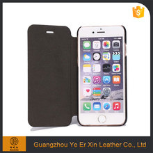 Factory price wholesale free sample protective pu leather phone case for iphone 6 7