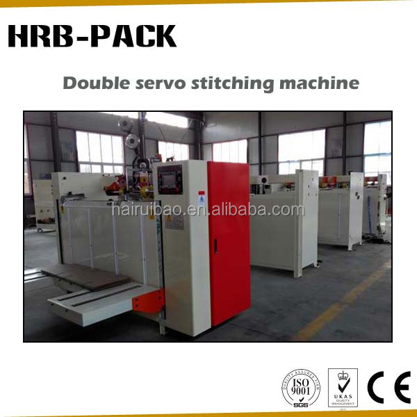 Carton Stapler/Stapling Machine for Corrugated Cardboard Sheet