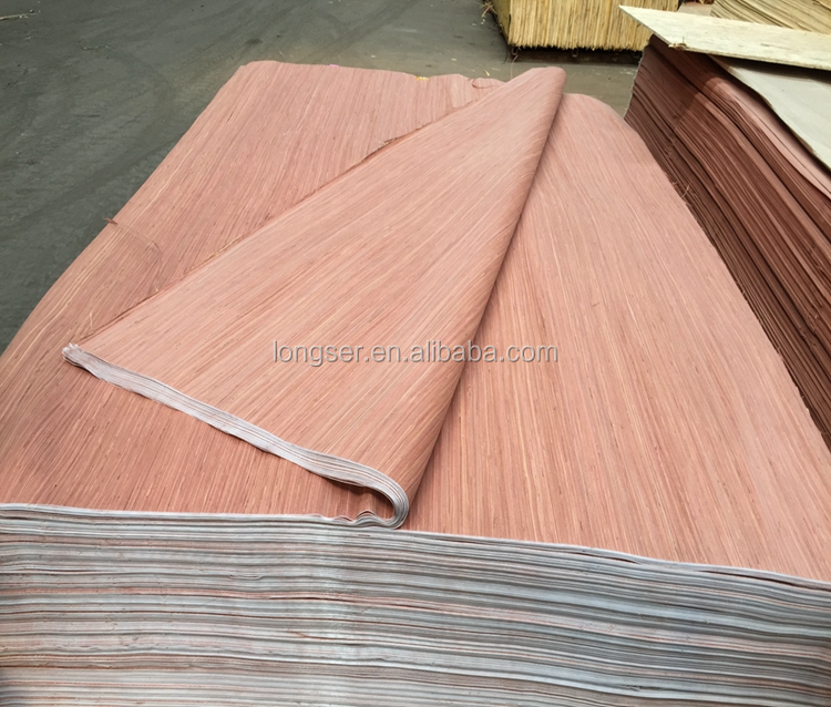 Burma gurjan face veneer cheap 0.25mm recon gurjan veneer to India