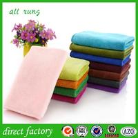 good water absorption microfiber cleaning cloth with silicone dots made in china