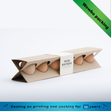 high quality customized paper egg carton packaging tray food packing box