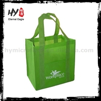 Professional printable reusable shopping bags, customized non woven bag, promotional nonwoven bag