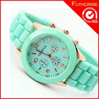 low prices silicone bracelet watch with pedometer for kids