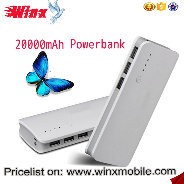 Winx usb laptop powerbank 20000mah in stock