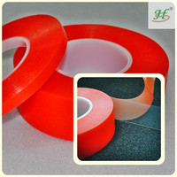 10mm X 50M Double Sided Clear Polyester Mobile Phone Adhesive Tapes