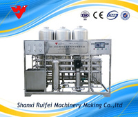 3T/H reverse osmosis system for drinking water making machine