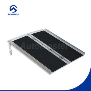 Wheelchair Ramp Design,Disabled Scooter, Portable Aluminum Wheelchair Ramp with CE
