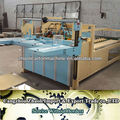2800mm Heavy type of semi automatic corrugated carton box folder gluer machinery