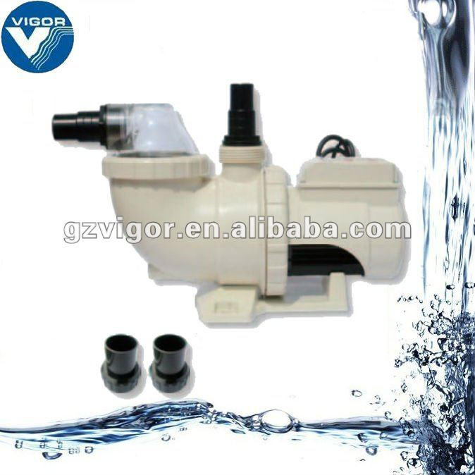 Low cost swimming pool water pumps