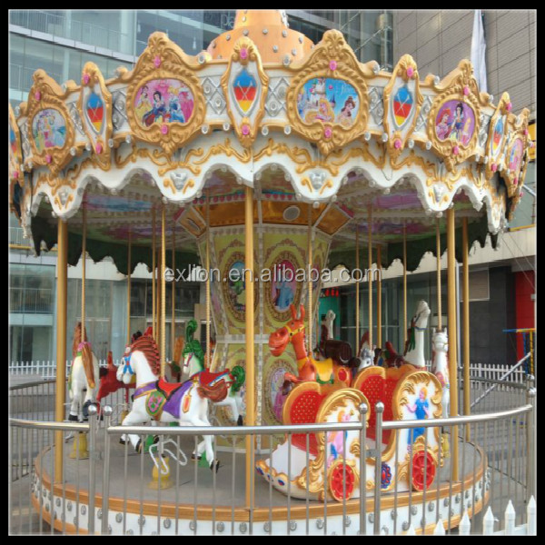 musical carousel with horse and carriage for sale