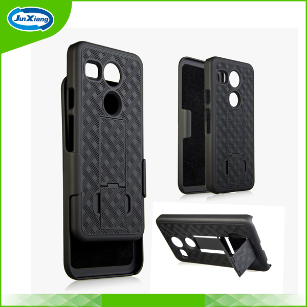 Fashion Kickstand Hard Phone Case for LG Nexus 5X