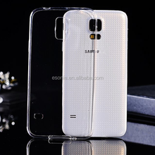 Paypal for Samsung s5 Ultra thin TPU Clear Case 0.33mm