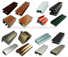 Factory customized cheap Natural Anodizing wholesale extruded aluminum profiles