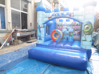 new style Inflatable bouncy castle fun city for kids