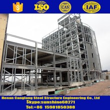 car parking arch construction galvanized steel structure space frame