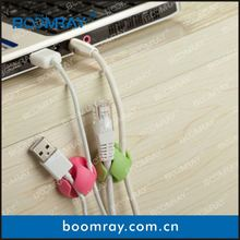boomray factory 2014 promotional TPR colorful multipurpose cable management wedding gift malaysia