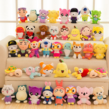 Wholesale Custom Kid New Design Cartoon Charater Plush Stuff Toys