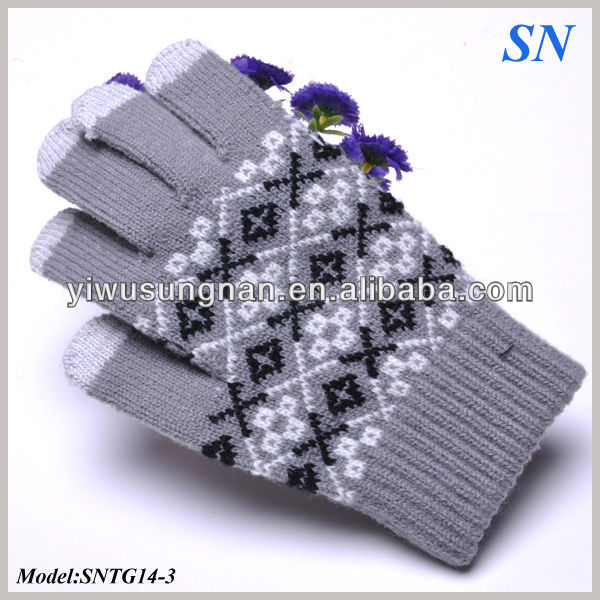 Unisex Smartphone texting touch screen gloves