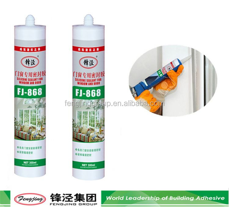 Latest 330g silver non-acetoxy silicone sealant for wholesale
