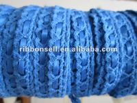 blue bag Lace