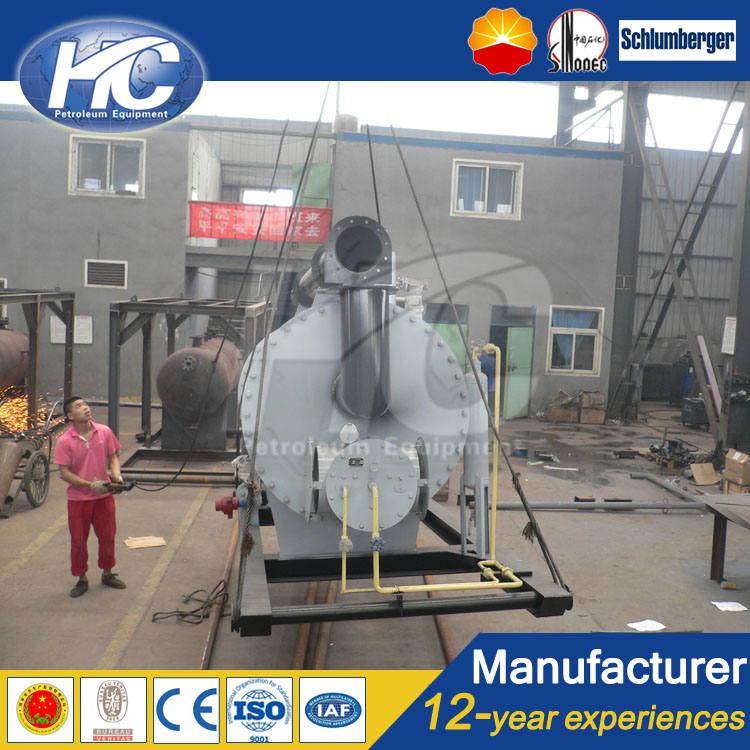 Customized designed energy saving diesel engine water jacket heater / steam-heated jacketed vessel