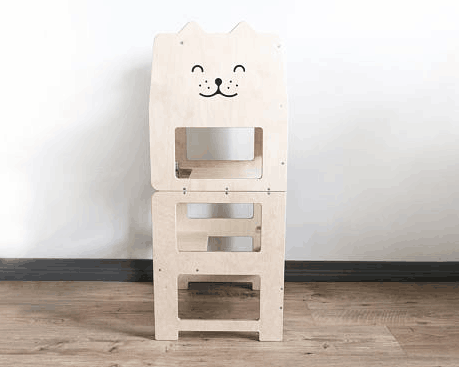 Little Helper Tower Toddler Kitchen Step Stool White Color Buy Little Helper Tower Folding Step Stool Wooden Learning Stool Product On Alibaba Com