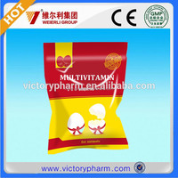 Poultry premix vitamin mineral for animals