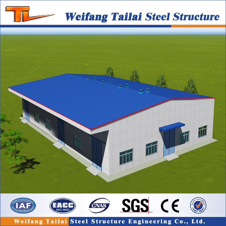 China low cost steel building kits/prefabricated warehouse building
