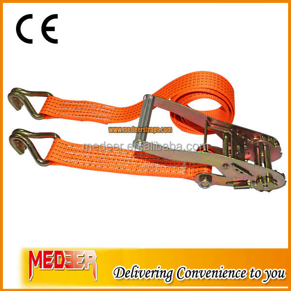 High standard produce retractable ratchet lashing