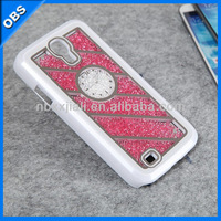 2014 wholesale Fashion Luxury design Bling Bling diamond crystal mobile rhinestone phone case for samsung galaxy S4