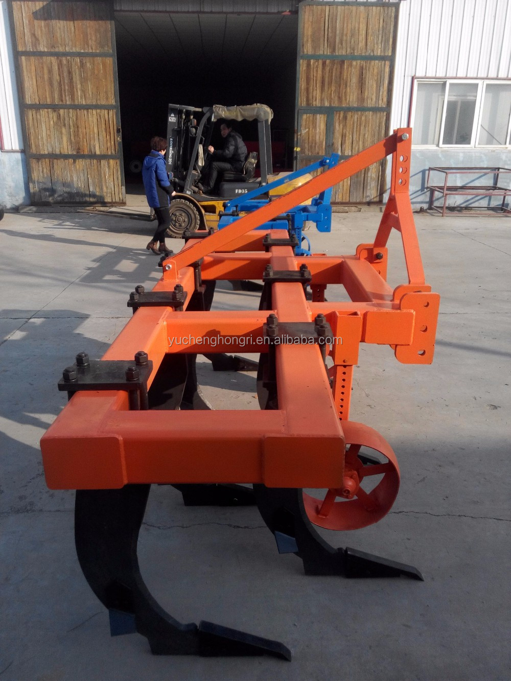 7 tines with heat treatment chisel plow